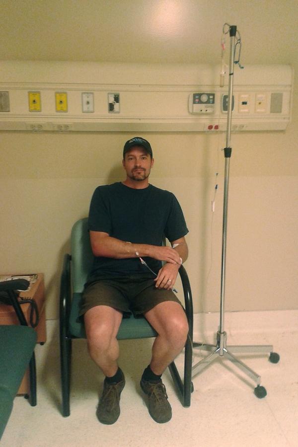 Dan Plugged to IV
